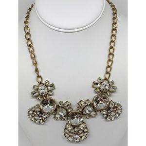 J. Crew Bold & Sparkly Rhinestone Necklace
